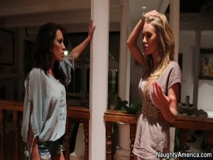 Capri Cavanni and Nicole Aniston - Lesbian Girl on Girl