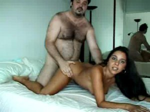 Beautiful Spanish girl fucked hard
